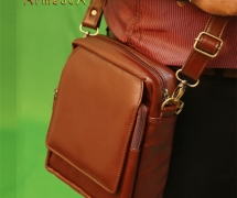 Exclusive Messenger Bag with Genuine Leather