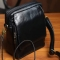 Messenger Bag with Genuine Leather
