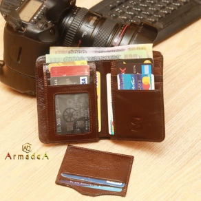 Exclusive Leather Wallet with card holder