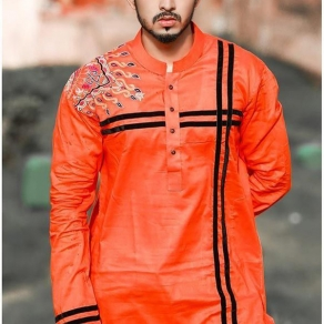Exclusive & Fashionable Men's Semi Long Panjabi