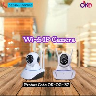 Double Antenna Wifi IP Security Camera