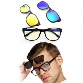 3 in 1 Magic Vision Magnetic Sunglass