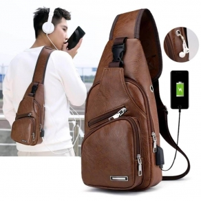 Haodier Unisex Crossbody Fashionable Bagpack