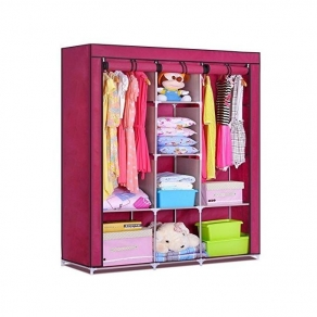 HCX Wardrobe Closet Storage Organizer Clothes Rack