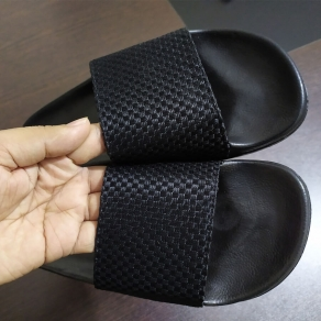 New Black Stylish Slipper