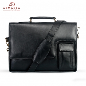 Exclusive Laptop Bag with Genuine Leather