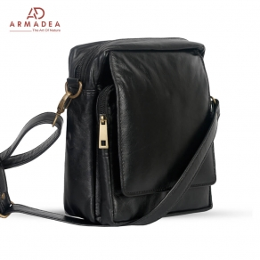 New Messenger Bag with Genuine Leather
