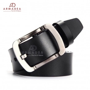 High Quality Single Part Buffalo Leather Official Belt