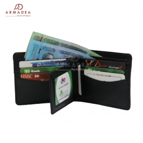 3 Part Genuine Leather Wallet