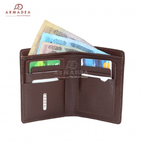 Stylish New Genuine Printed Leather Wallet