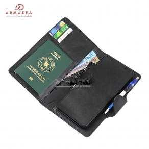 Notebook with Passport & Mobile Purse