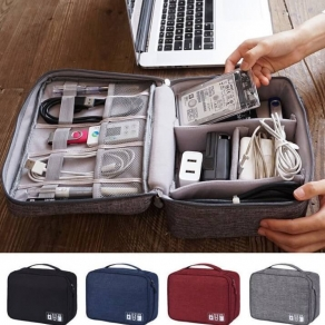 Travel Cable organizer and storage bag