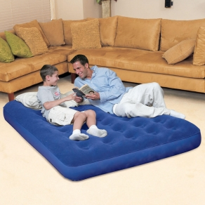 High Quality Double Air Bed with Pumper