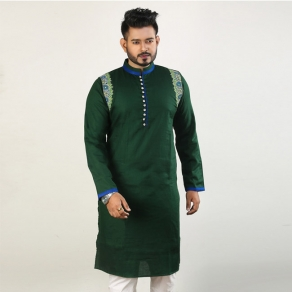 New Look Men's Semi Long Panjabi